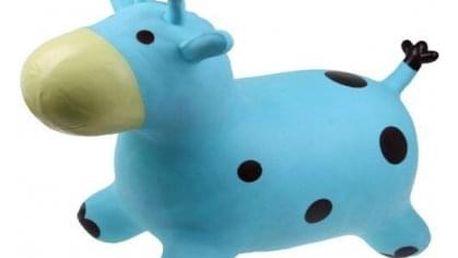 Hopsadlo pro děti – kravička modrá