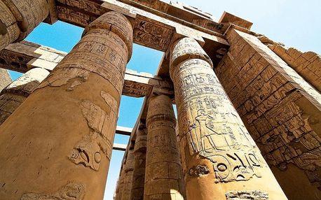 Egypt - Hurghada letecky na 12-13 dnů, strava dle programu