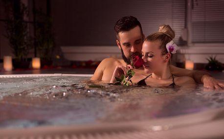 3 hodiny romantiky: privátní wellness pro dva