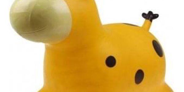 Hopsadlo pro děti – kravička žlutá