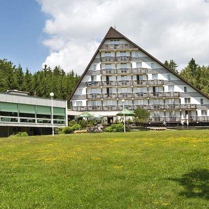 Krásy horské přírody: pobyt na Vysočině s polopenzí a wellness