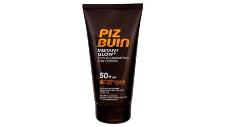PIZ BUIN Instant Glow Skin Illuminating Lotion SPF50+ 150 ml rozjasňující mléko na opalování pro ženy