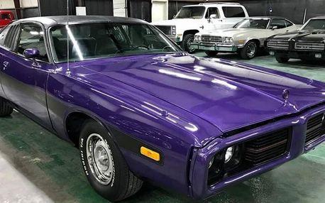 Jízda v Dodge Charger 1973 až na 60min. nebo 12hod.