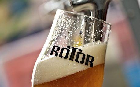 Hodinová exkurze v pivovaru Rotor i s ochutnávkou