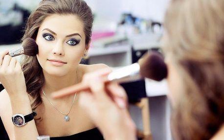 2hod. kurz líčení pro 1–4 osoby i balíčky kosmetiky