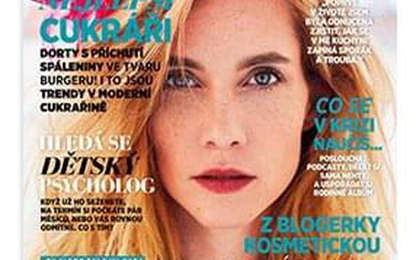 Roční předplatné časopisu Glanc + Speciál Šťastná a zdravá2