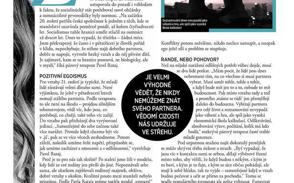 Roční předplatné časopisu Glanc + Speciál Šťastná a zdravá3