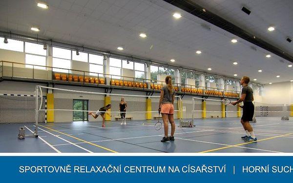 Badminton, sauna a vířivka5