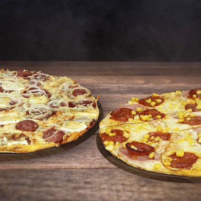 Dvě Maníkovy pizzy podle výběru z 28 druhů