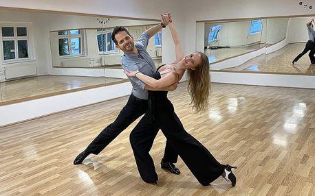 Taneční lekce s lektory ze StarDance