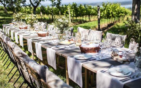 Vinařské odpoledne se stylovou večeří v srdci Pálavy