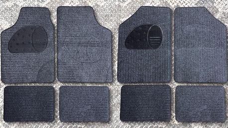 Univerzální textilní autokoberce snadné na údržbu: 4 druhy
