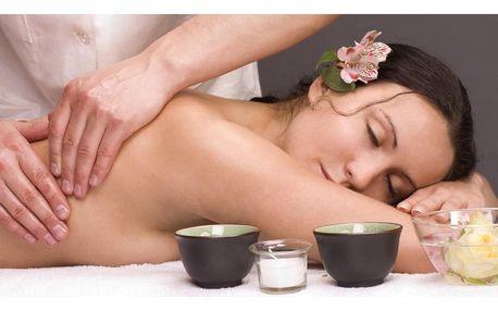 Dokonalá relaxace: dvě hodinové masáže dle výběru