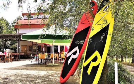 Půjčení paddleboardu na Prýglu: hodina i celý den