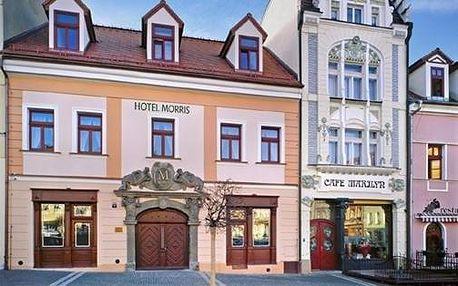 Stylový pobyt v hotelu Morris Česká Lípa, který na Vás dýchne historií