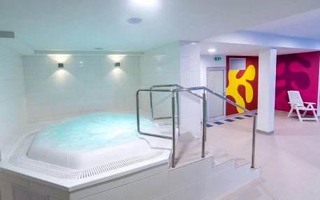 Kolobrzeg, hotel New Skanpol*** se vstupem do Aqua centra