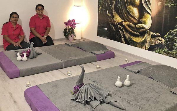 60 min. tradiční thajské masáže pro 1 osobu4