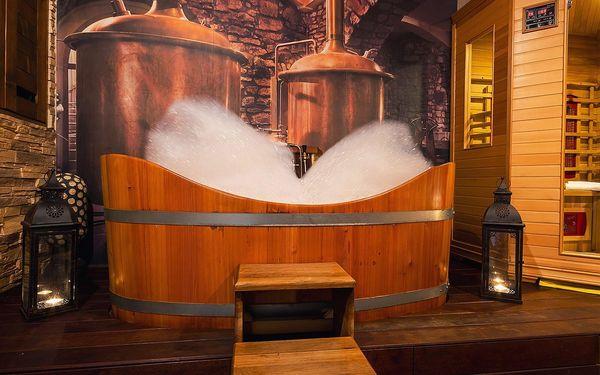 Relaxační balíček pro dva: sauna, masáž i koupel