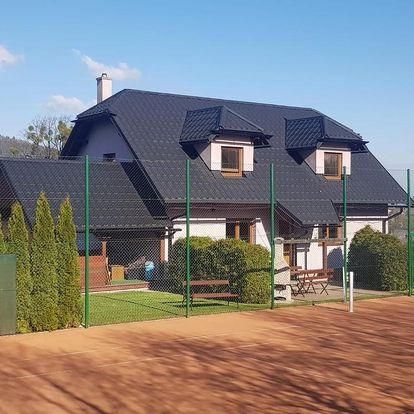 Beskydy: Apartmány u tenisového kurtu