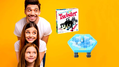 Tučňáci na ledě a Twister aneb perfektní zábava plná smíchu!