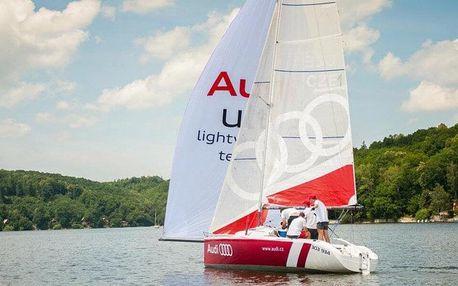 Adrenalinová i relaxační plavba na plachetnici
