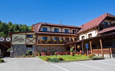Skutečný odpočinek s neomezeným wellness v oblíbeném hotelu na Oravě