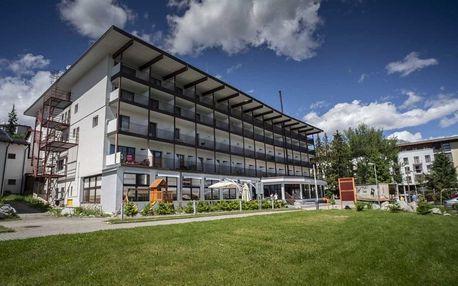 Relax pobyt ve stylovém hotelu přímo na Štrbském Plese
