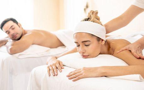 Uvolnění ve dvou: párová masáž, výběr z 10 druhů