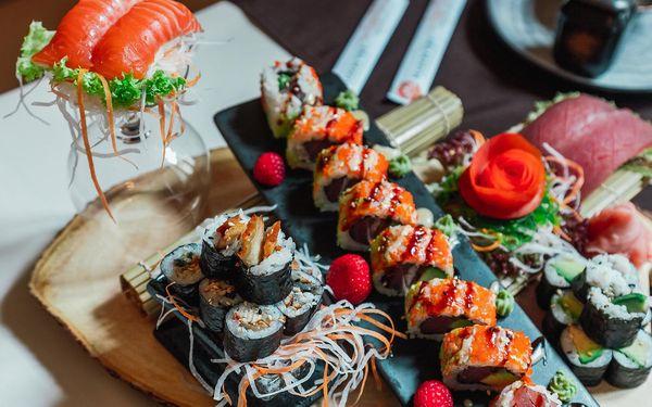 Sushi set č. 4 (45 ks + 6 ks sashimi)4