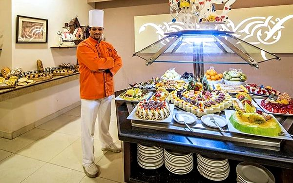 Hotel Nubia Aqua Beach Resort, Hurghada, letecky, all inclusive4