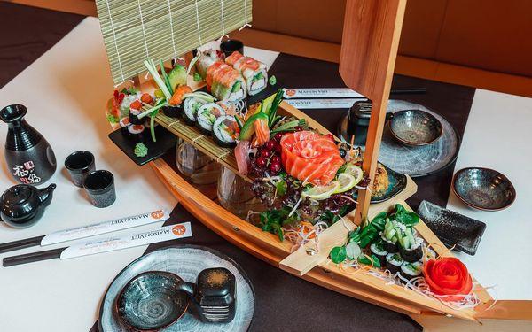 Sushi set č. 4 (45 ks + 6 ks sashimi)5