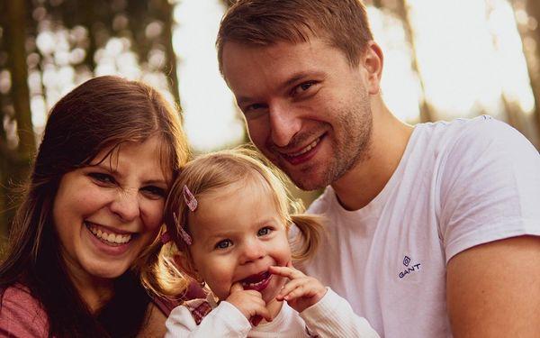 Focení v exteriéru pro jednotlivce, pár či rodinu