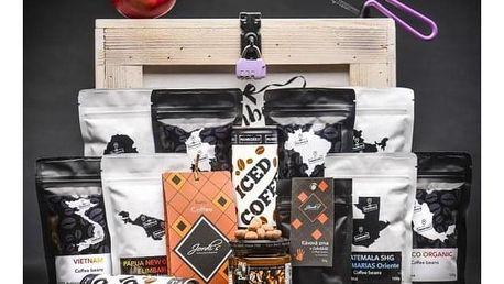 Dámská dárková truhla pro milovnice kávy