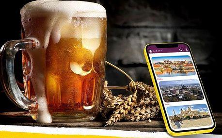 Venkovní úniková hra Tour de beer