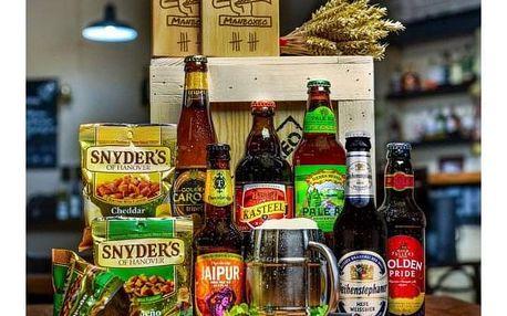 Originální dárková bedna pro milovníky piva