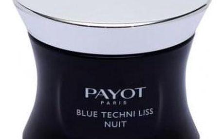 PAYOT Blue Techni Liss Nuit 50 ml noční pleťový krém s ochranou proti modrému světlu pro ženy