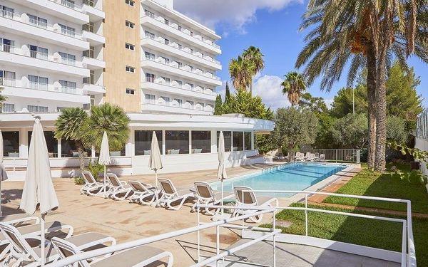 TENT PLAYA DE PALMA, Mallorca, letecky, snídaně v ceně2