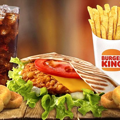 Voucher na 1 + 1 menu zdarma v Burger Kingu