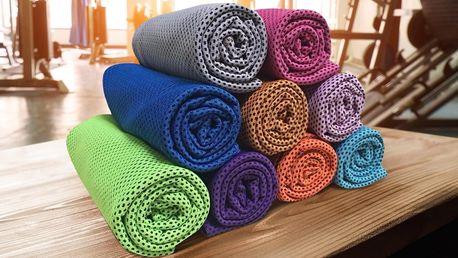 Chladicí ručník: osvěžení na sport i výlety