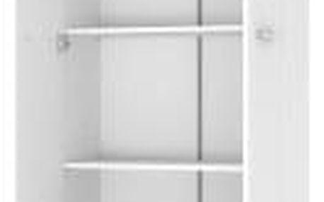 Šatní skříň Lima REG 2 bílá