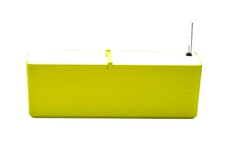 Plastia samozavlažovací truhlík Berberis 80, zelená + bílá