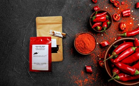 Mleté nebo sušené Chilli papričky