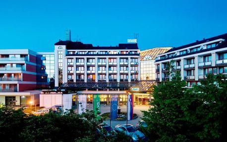 4* Hotel Ajda v lázeňské oblasti Moravské Toplice se snídaní