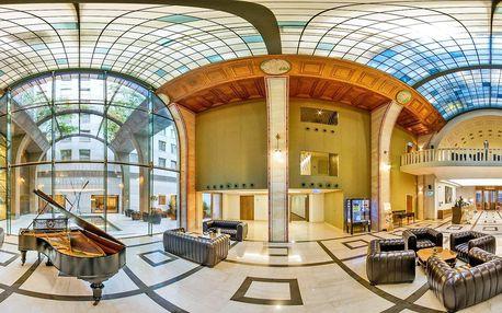 Luxus v centru Budapešti: pobyt s neomezeným wellness