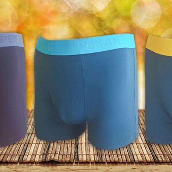 Balení bambusových kalhotek nebo pánských boxerek