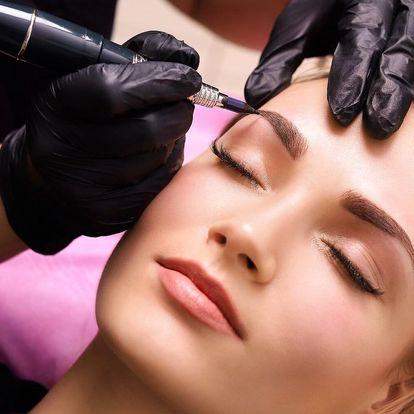 Krásné obočí: microblading včetně korekce