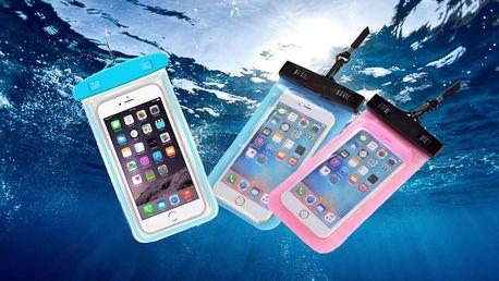 Vodotěsné pouzdro na mobil, doklady nebo peníze