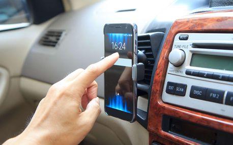 Univerzální držáky na mobil do mřížky ventilátoru