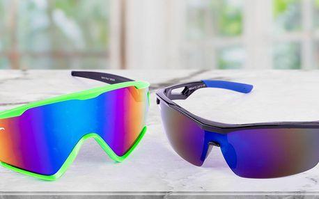 Sportovní sluneční brýle: na kolo, brusle i běh