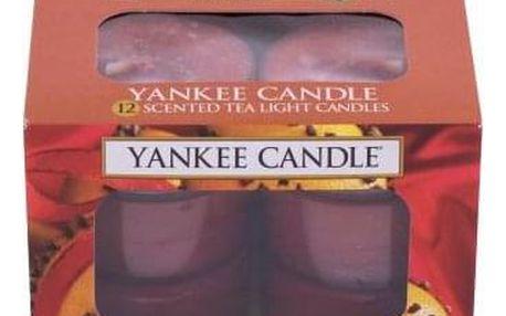 Yankee Candle Spiced Orange 117,6 g vonné čajové svíčky 12 x 9,8 g unisex